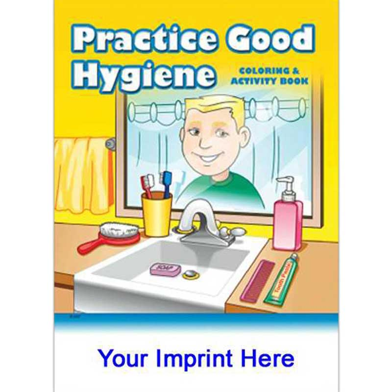 good hygiene practice Colouring Pages