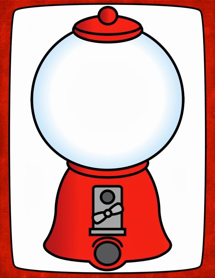 Pin gumball machine template on pinterest
