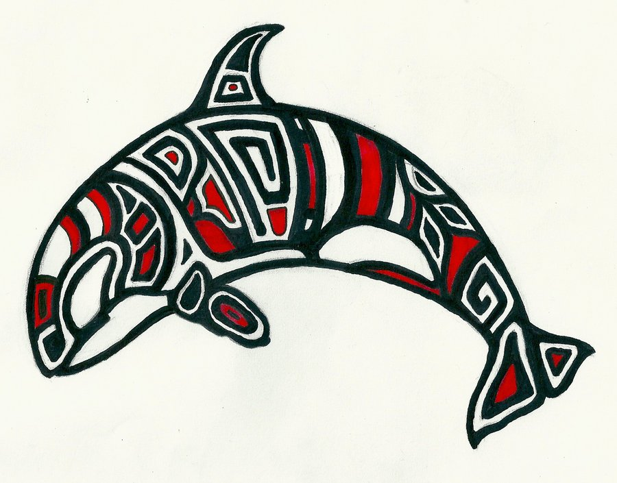 Tattoo Gallery Haida Orca Tattoo Page 5