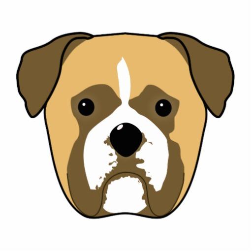 clipart dog face - photo #4