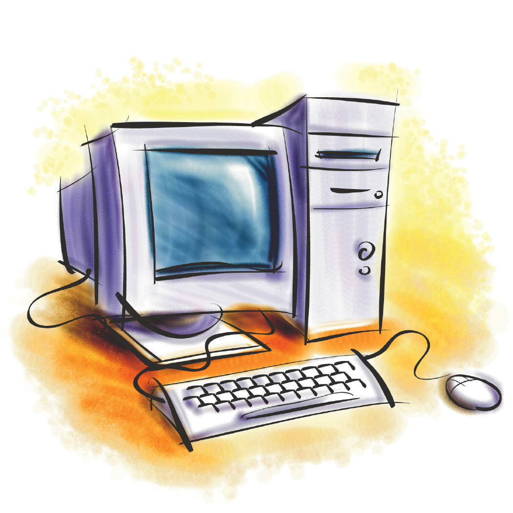 Computer Cartoon Pictures Cliparts Co