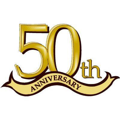 50th Anniversary Clipart - Cliparts.co