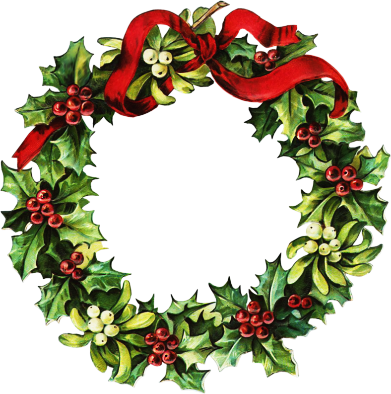 Christmas Clipart Wreath - Cliparts.co