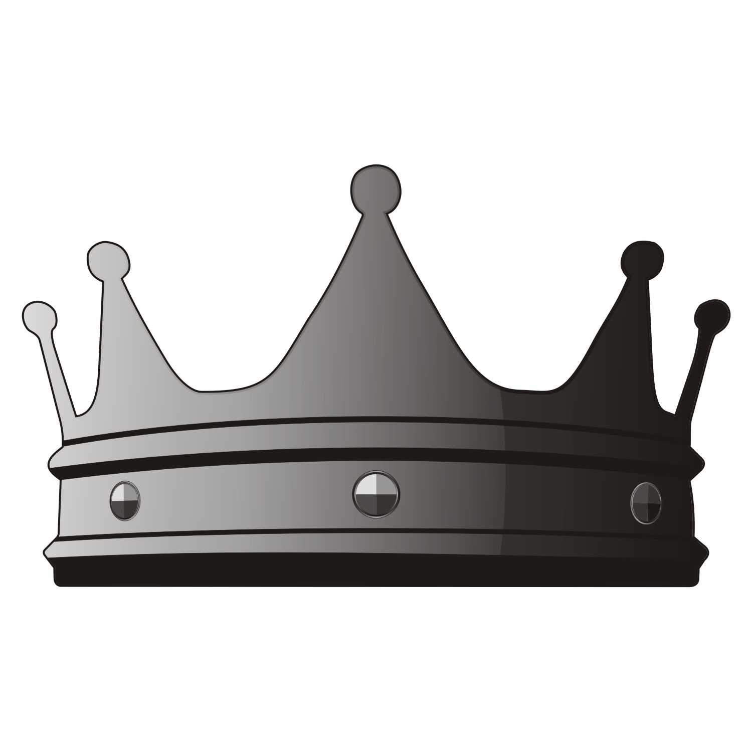 free vector clipart crown - photo #31