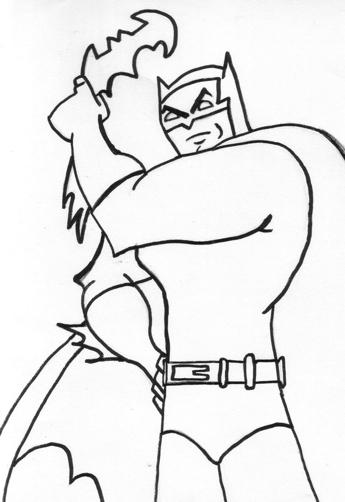 Pictures Of Batman To Color - Cliparts.co
