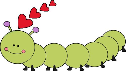 Valentine's Day Caterpillar Clip Art - Valentine's Day Caterpillar ...