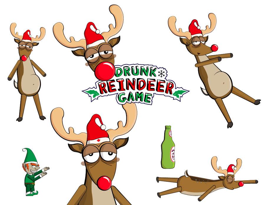 Cartoon Reindeer Pictures - Cliparts.co