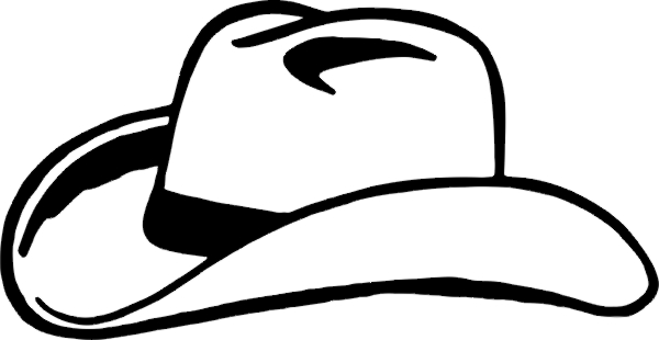 cowboy hat clipart free - photo #25