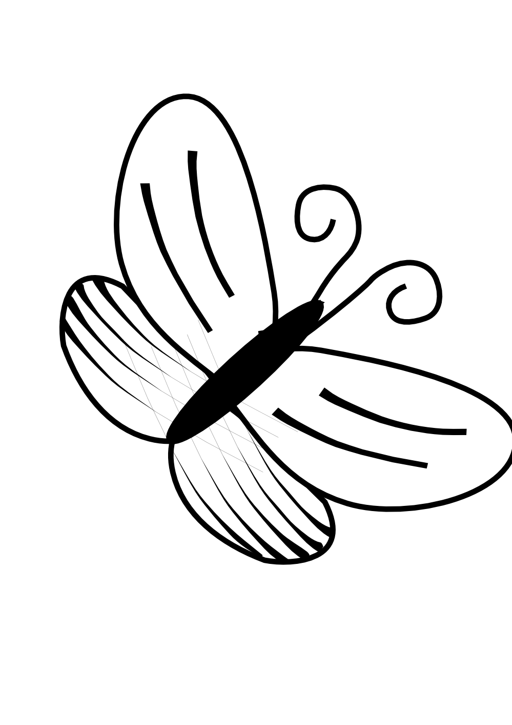 Butterfly Clip Art Black And White | Clipart Panda - Free Clipart ...