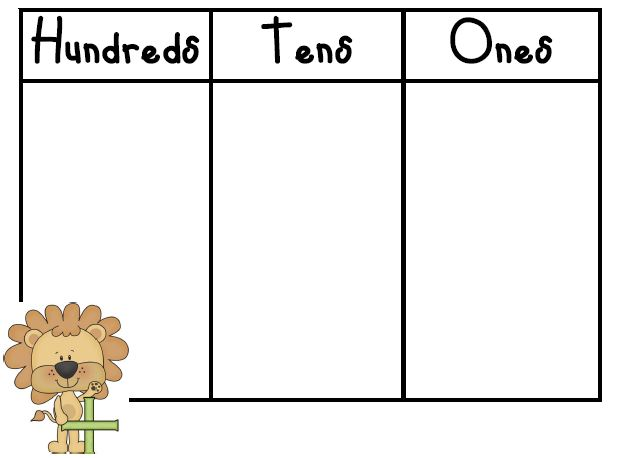 Number Names Worksheets place value activities for kindergarten – Kindergarten Place Value Worksheets