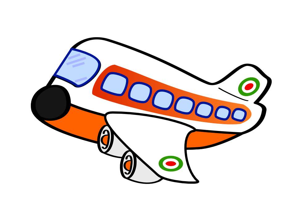 clipart airplane with banner - photo #49