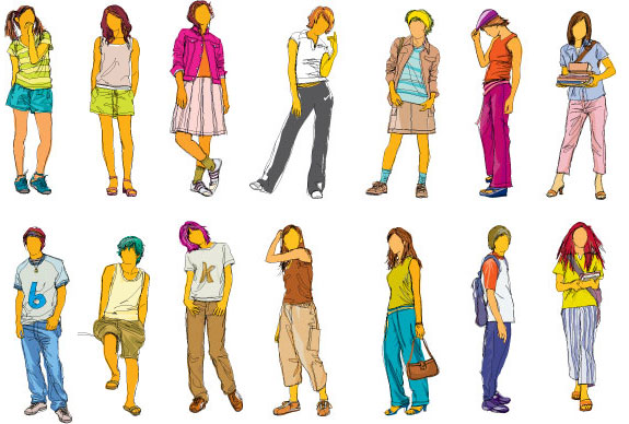 pictures of teenagers   cliparts co