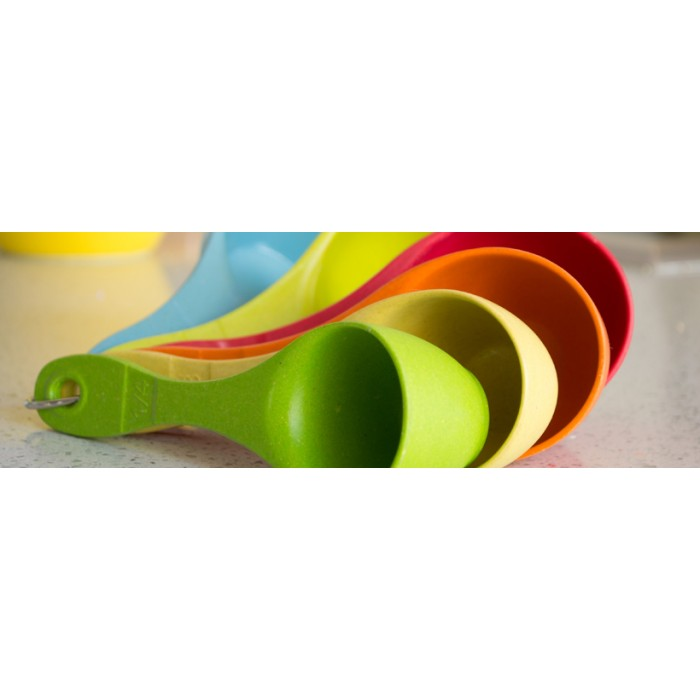 Eco Friendly Measuring Cup Set Assorted Colors