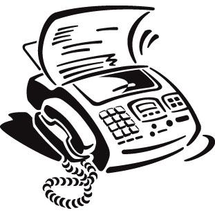 Fax Machine Clip Art - Cliparts.co