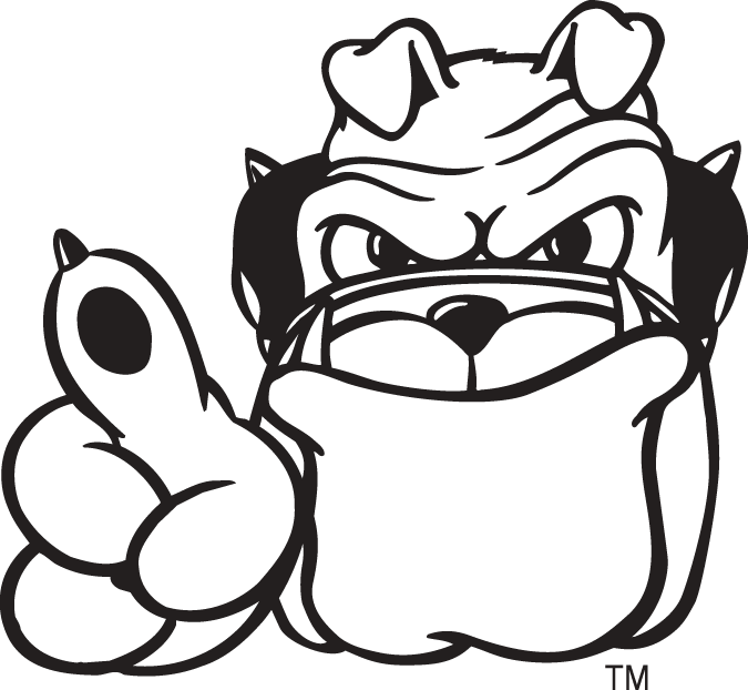 Georgia Bulldog Clipart