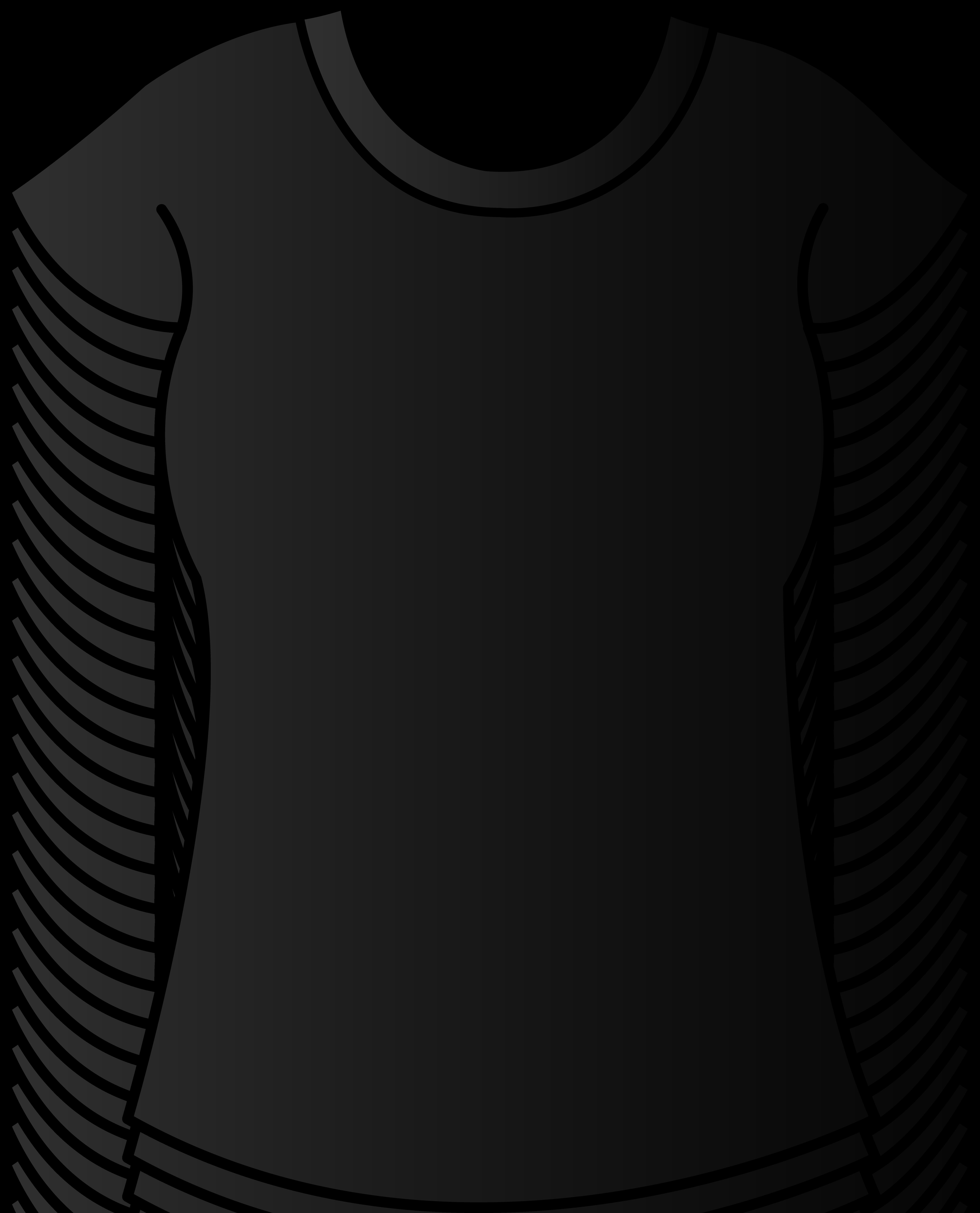 T shirt clipart black shirt  Clipartix