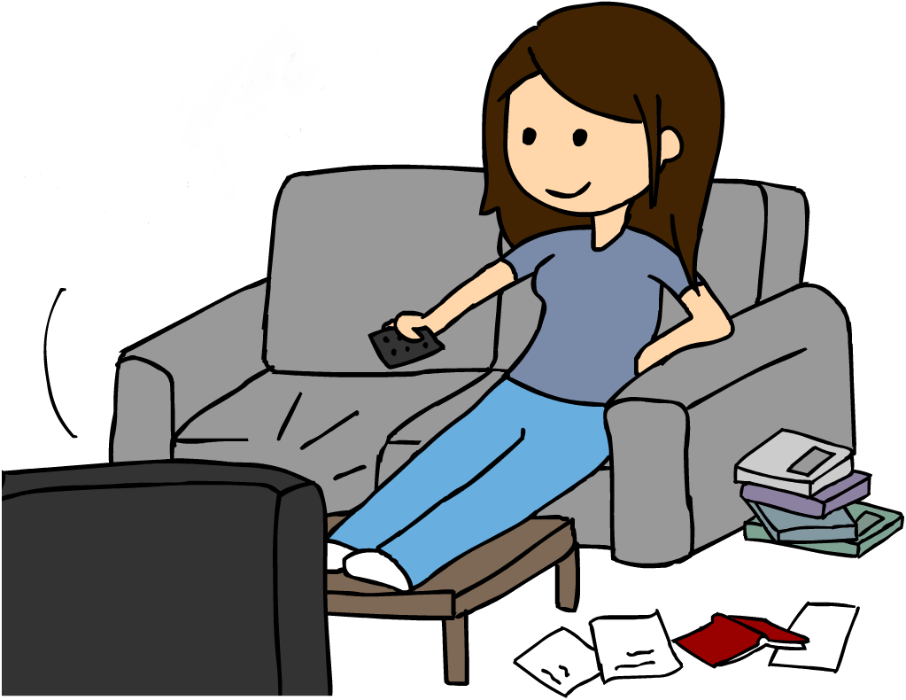 Watching Tv Clip Art - Cliparts.co