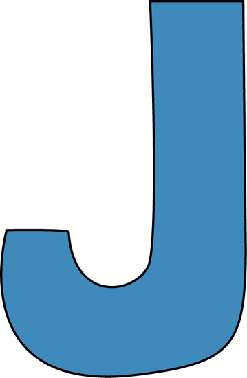 letter j clip art clipart rh worldartsme com letter j words clipart letter j clipart black and white