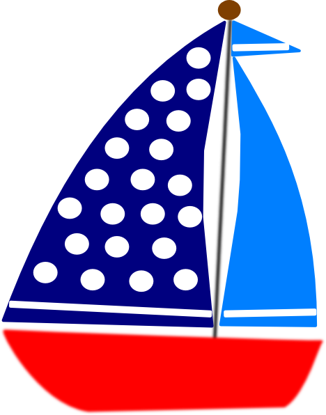 Navy Blue Sailboat Clipart | Clipart Panda - Free Clipart Images