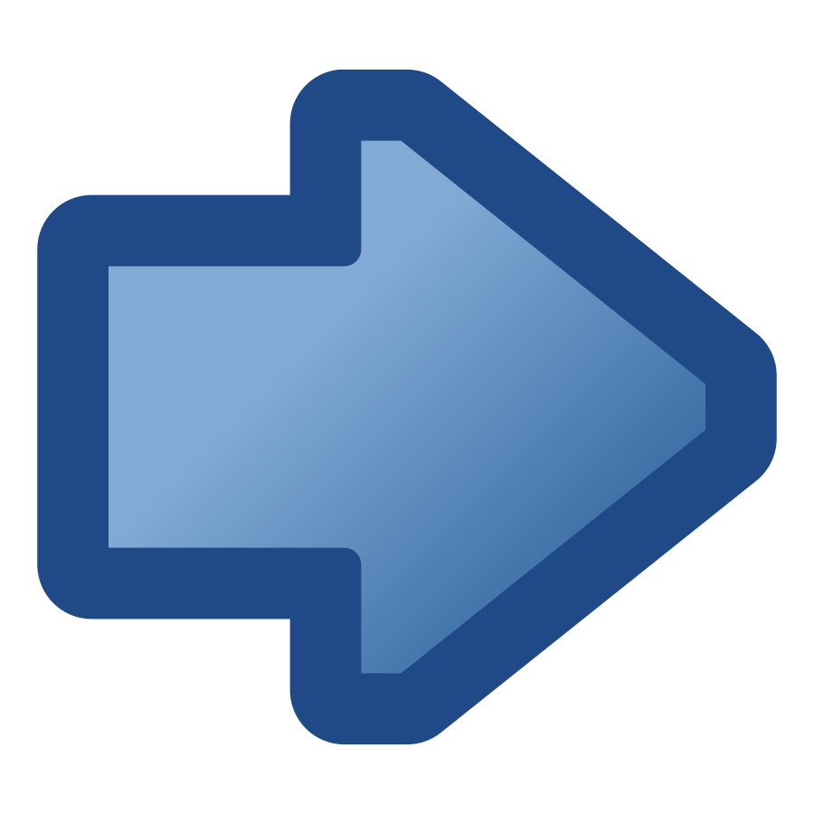 icon arrow right blue small clipart 300pixel size, free design ...