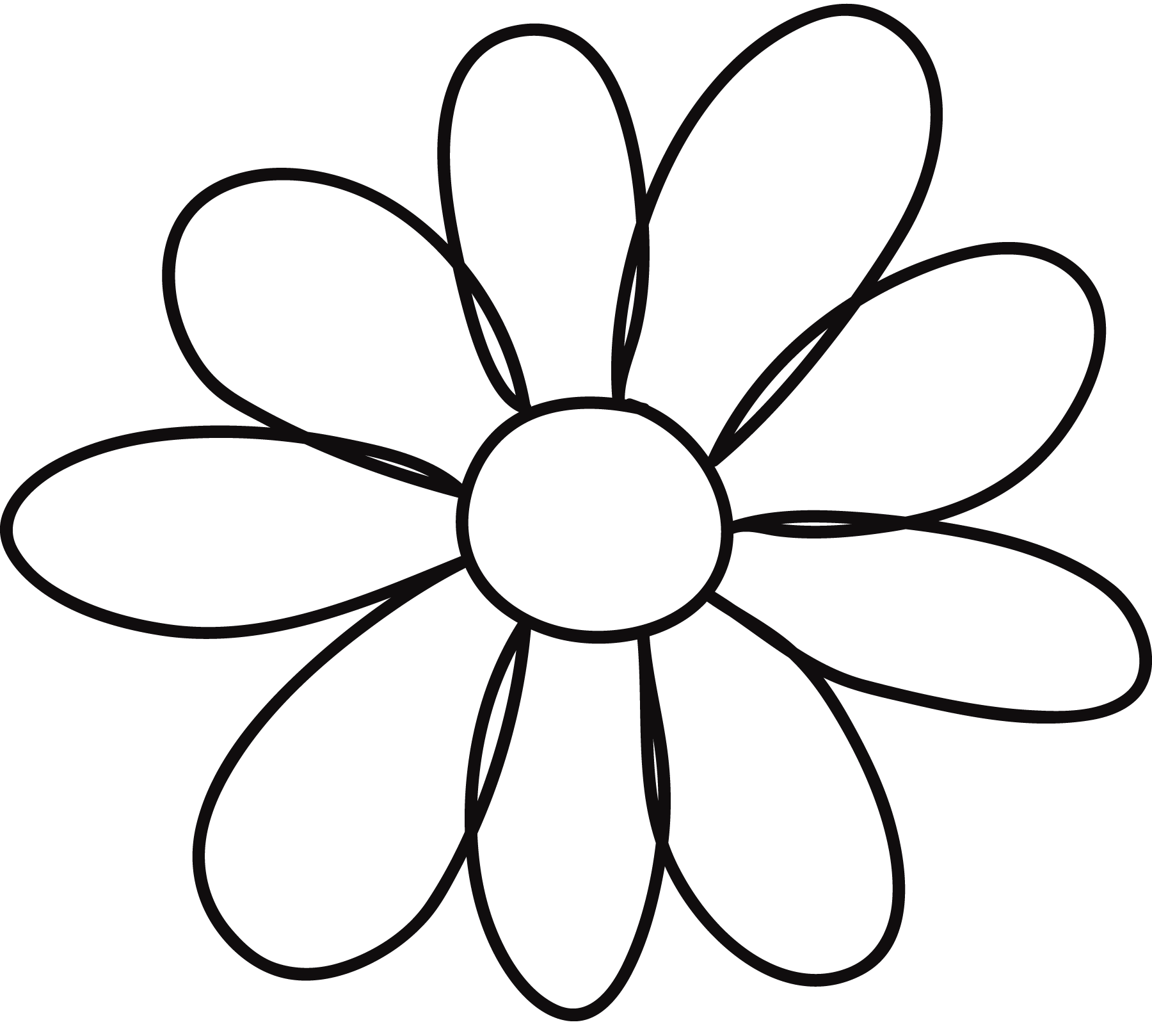 Invaluable image intended for printable flowers pattern