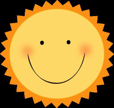 Smiling sunshine clipart - ClipartFest
