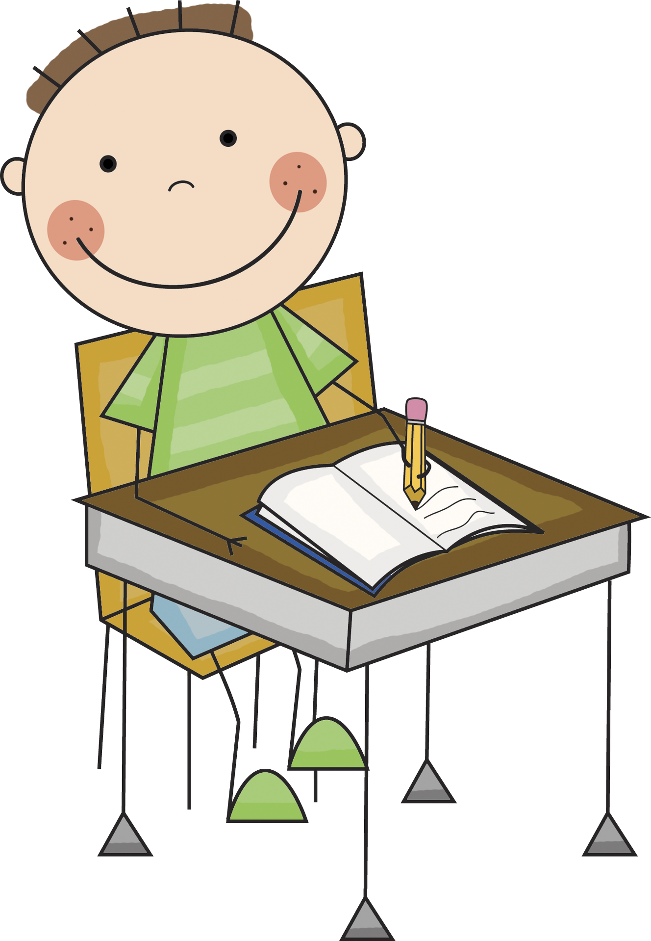 Pix For > Clip Art Children Writing - Cliparts.co