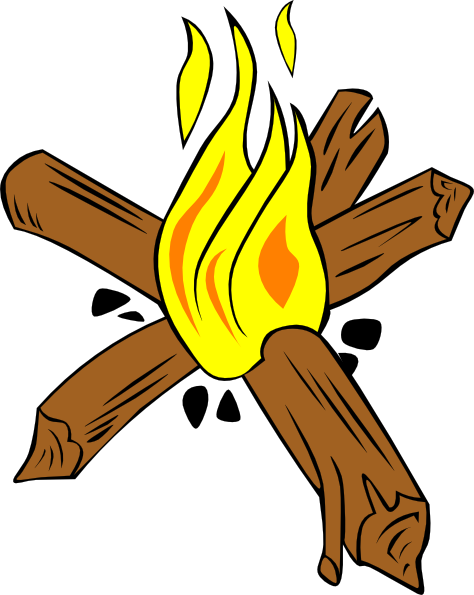Family Campfire Cartoon | Clipart Panda - Free Clipart Images