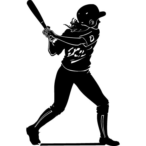 Softball Bat Clipart - Cliparts.co