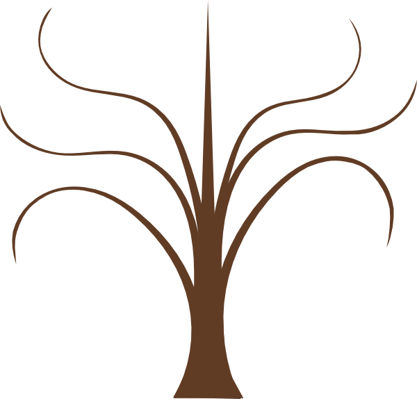 Tree Branches clip art - vector clip art online, royalty free ...