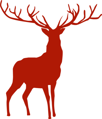 Reindeer Silhouette - Cliparts.co