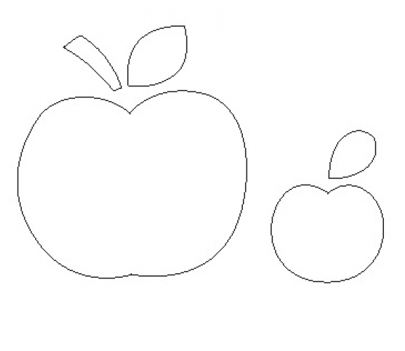 Apple Template Cliparts Co