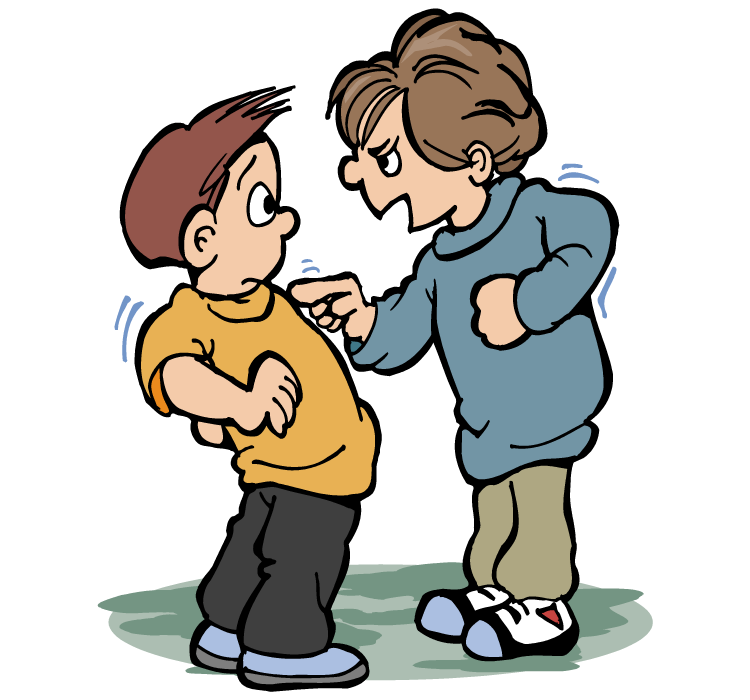 Cartoon Bullying - Cliparts.co