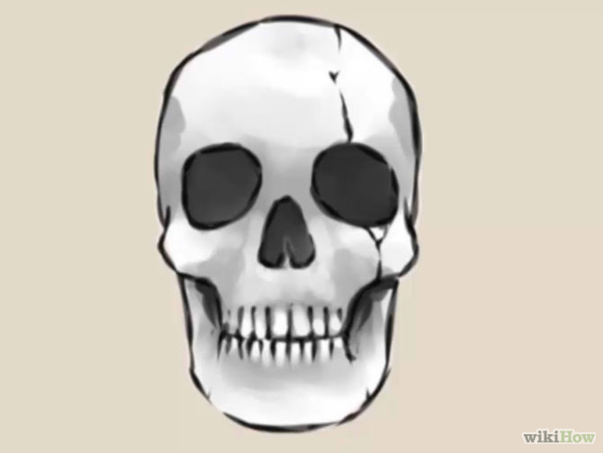 Easy Skull Drawings - Cliparts.co