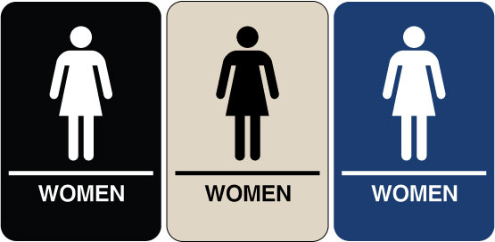 female restroom sign clipartsco