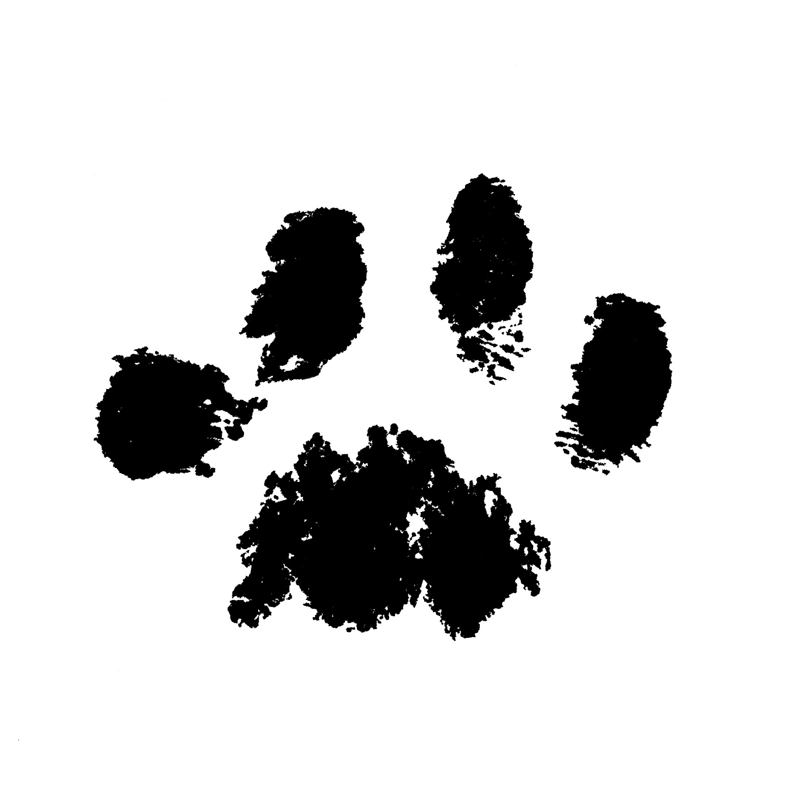 Cat Paw Print - Cliparts co