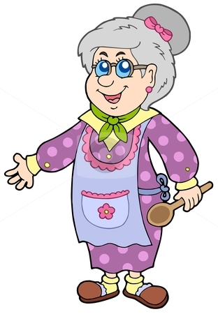 Clipart Grandmother