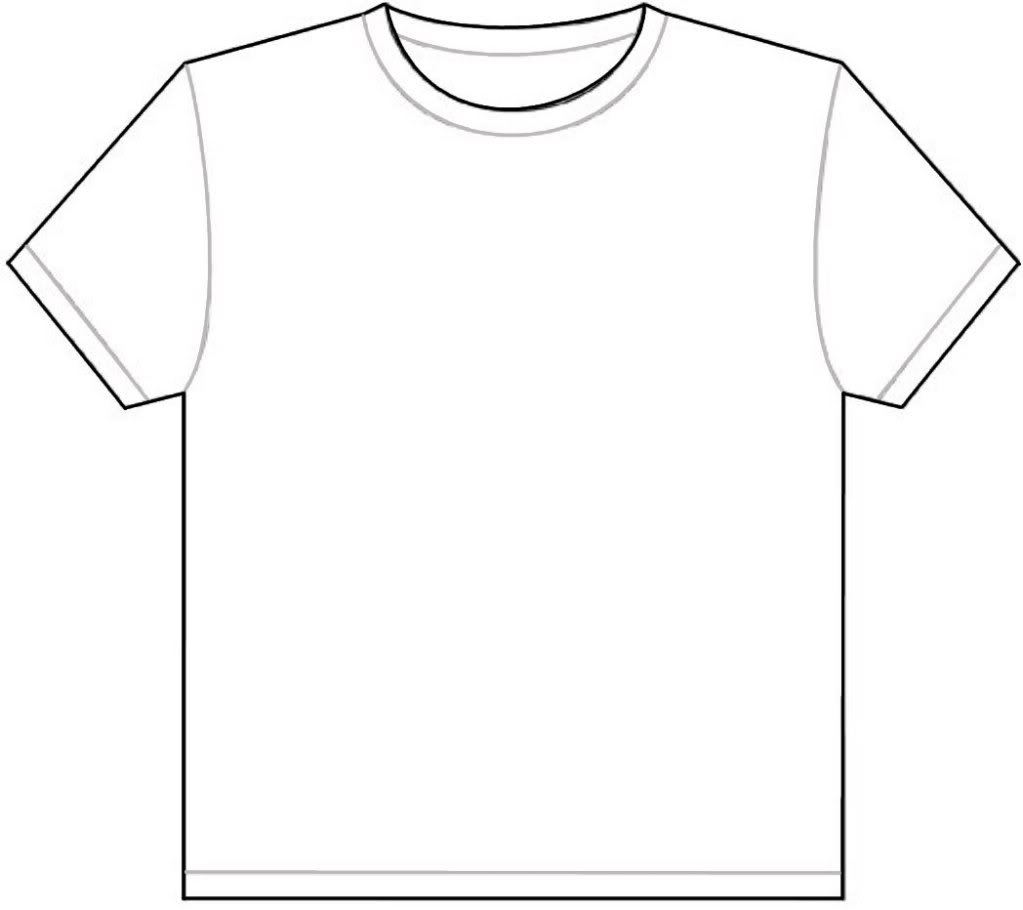 Blank T Shirt Cliparts Co