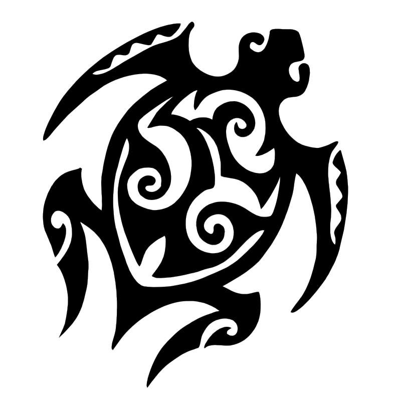 Hawaiian Turtle Tattoos Designs - Cliparts.co