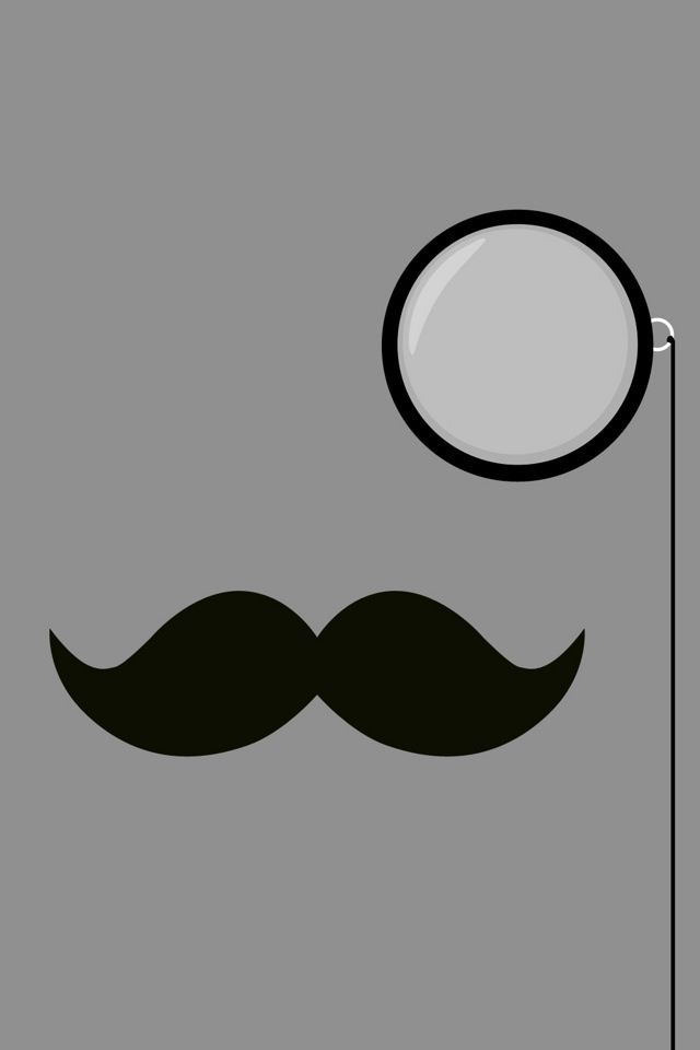 mustache iphone wallpaper hd - photo #10