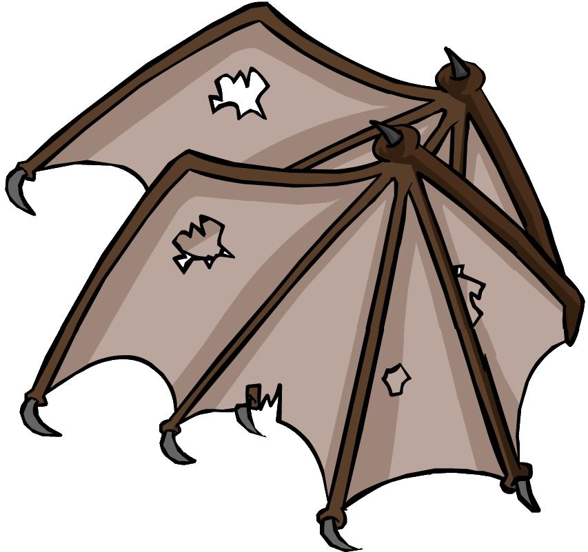 Cartoon Bat Wings - Cliparts.co