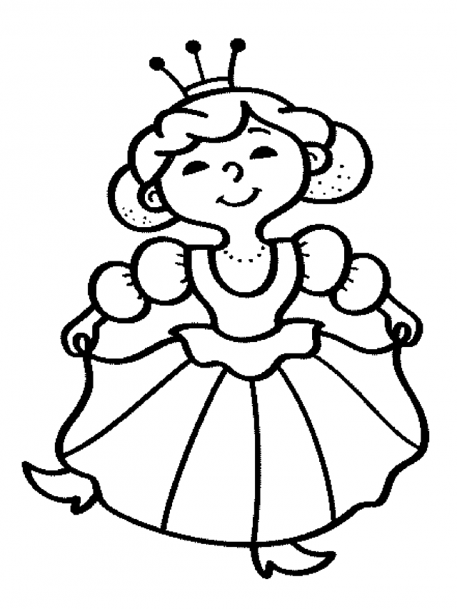 Fairy Tale Coloring Pages | 853x640