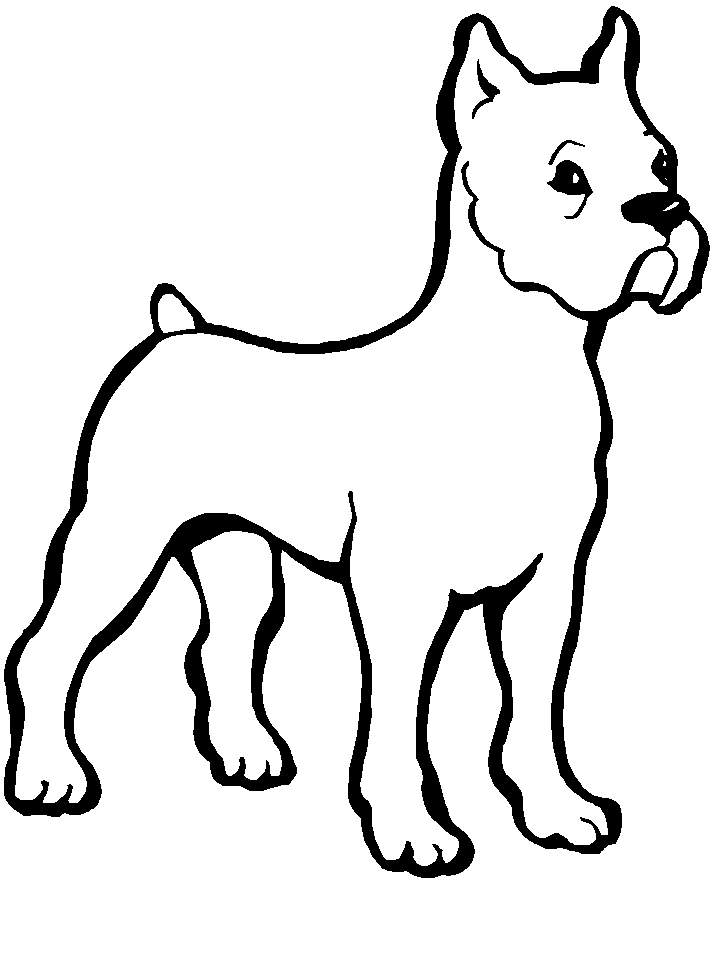 Cartoon Dog Coloring Pages - Free Printable Coloring Pages | Free ...