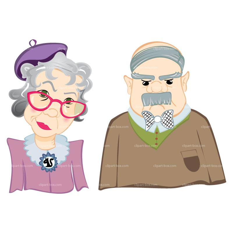 Grandmother And Grandfather Clipart | Clipart Panda - Free Clipart ...