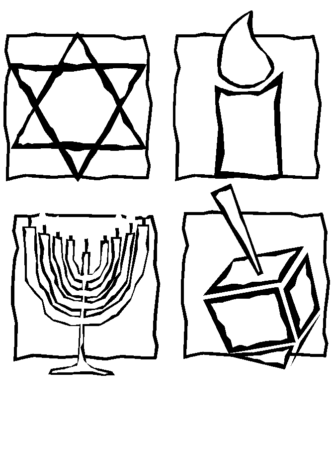 Jewish Coloring Pages For Kids 64