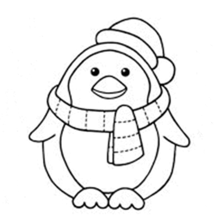 Cute Pictures Of Cartoon Penguins Cliparts Co