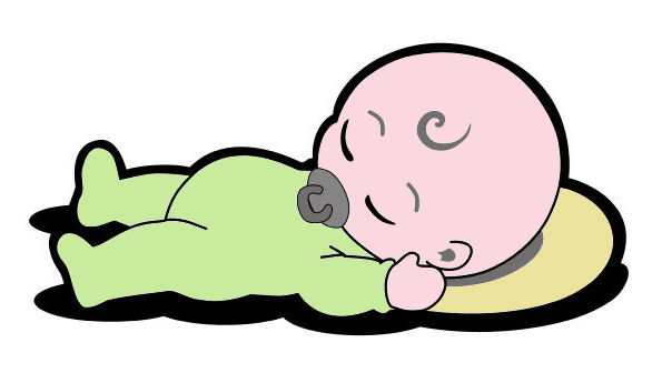 sleeping baby cartoon cliparts co Baby Crib Cartoon Baby Stuff Clip Art