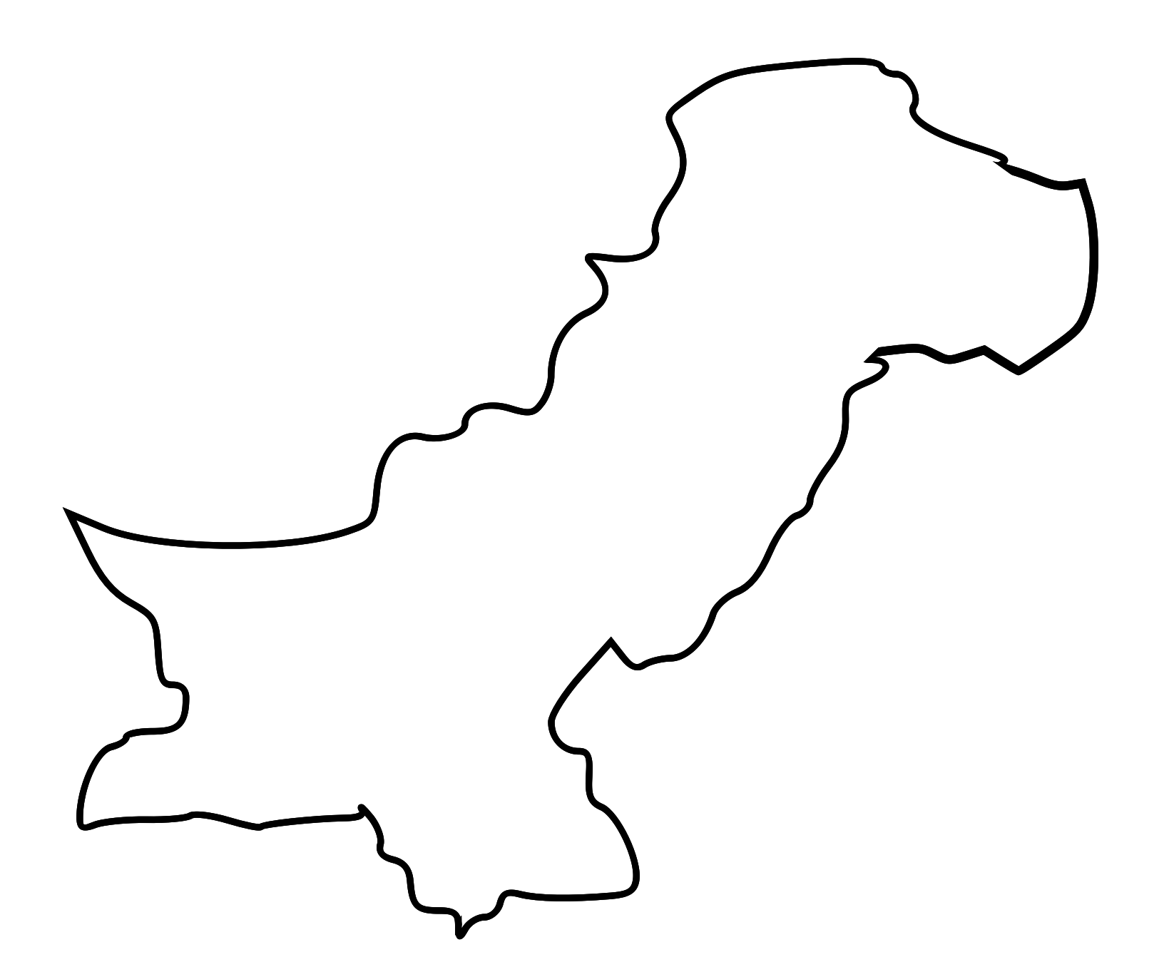 pakistan outline Find the perfect pakistan map outline stock photo huge collection, amazing choice, 100+ million high quality, affordable rf and rm images no need to register, buy now.