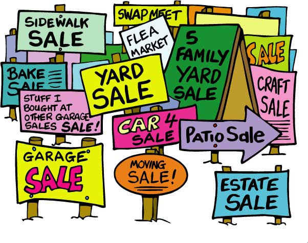 Image result for thrift sale signs