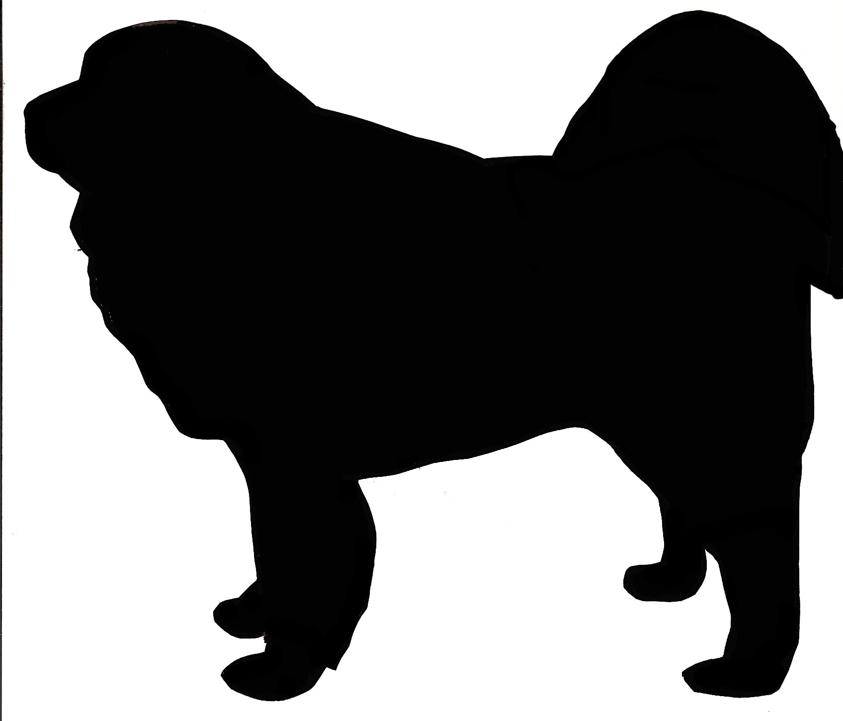 Tibetan Mastiff Art Print Gift Mastiff Lovers | Pets-: cliparts.co/tibetan-clip-art